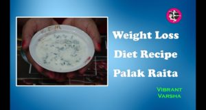Weight-Loss-Diet-Recipe-Palak-Raita-Hindi